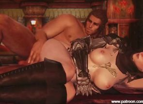 Hotty is pounded stiff in skyrim