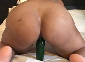 Ex-girlfriend takes thick cucumber
