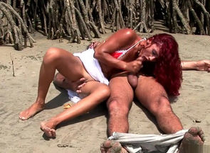 Naughty  in wild facial, sandy-haired..