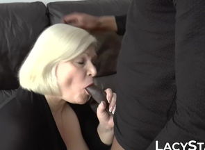 Huge-chested UK grannie Lacey Starr..