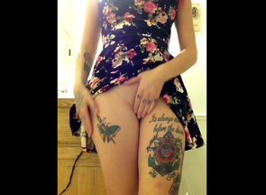 What a bimbo tattoo, rose. Why, this..