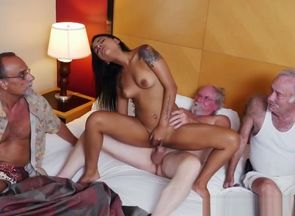 banging with red-hot Latina virgin..