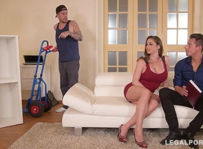 Foxy Cougar Cathy Heaven takes 3..