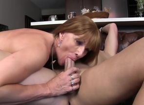 Faux Titted Cougar Pummeling The Next..