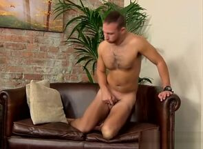Furry boy Brent Taylor working on his..