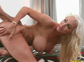 Jake Adams & Nicolette Shea in Caboose..