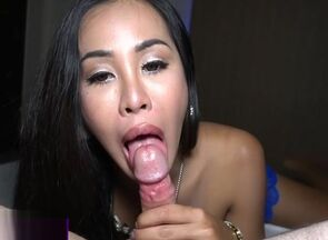 Japanese ladyboy in a underwear..